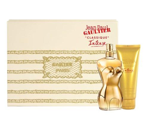 Jean Paul Gaultier Classique Intense, Dárková sada, parfémovaná voda 50ml + telové mlieko 75ml, + AKCE: dárek zdarma