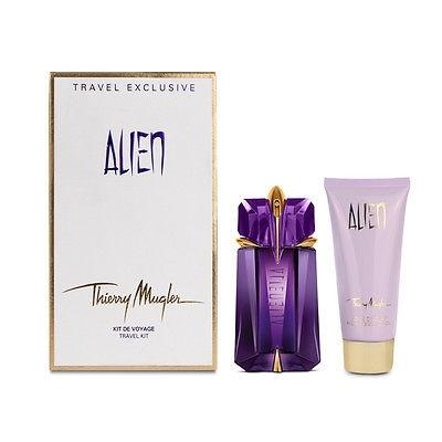 Thierry Mugler Alien, Dárková sada, parfémovaná voda 60ml + telové mlieko 100ml, Dámska vôňa, + AKCE: dárek zdarma