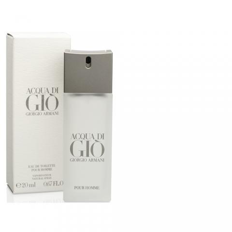 Giorgio Armani Acqua di Gio pour Homme, Toaletní voda, 20ml, Pánska vôňa, + AKCE: dárek zdarma