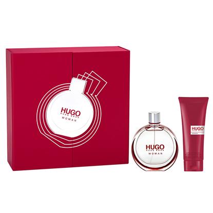Hugo Boss Hugo Woman, Dárková sada, parfémovaná voda 75ml + sprchový gel 200ml , Dámska vôňa, + AKCE: dárek zdarma