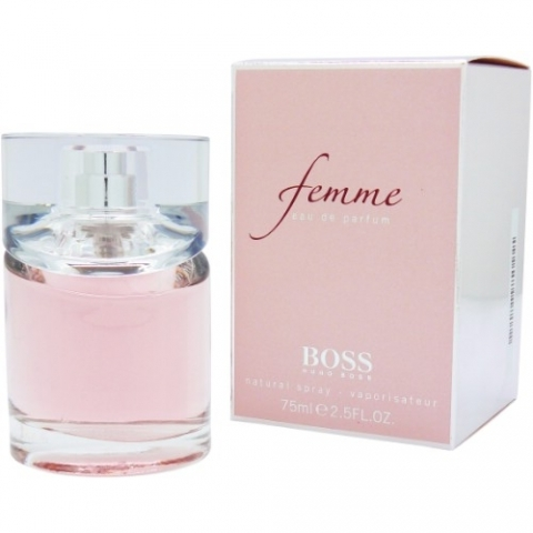 Hugo Boss Femme, Parfémovaná voda, 75ml, Dámska vôňa, + AKCE: dárek zdarma
