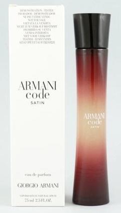 Giorgio Armani Code Satin, Parfémovaná voda - Tester, 75ml, Dámska vôňa, + AKCE: dárek zdarma