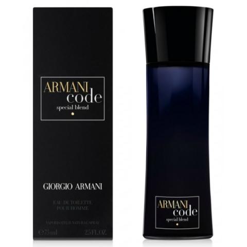 Giorgio Armani Code Special Blend, Toaletní voda, 75ml, Pánska vôňa, + AKCE: dárek zdarma