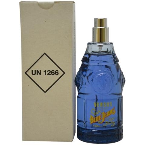 Versace Blue Jeans, Toaletní voda - Tester, 75ml, Pánska vôňa, + AKCE: dárek zdarma