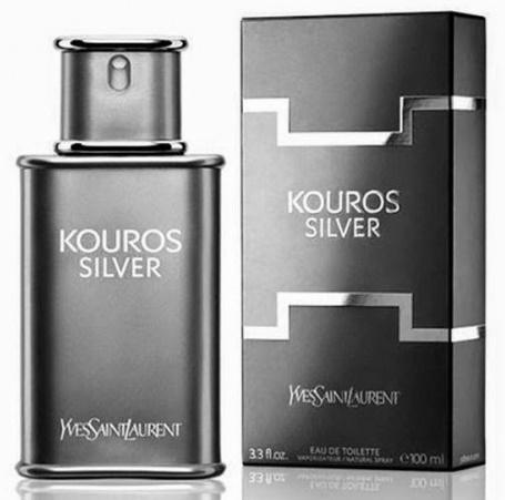 Yves Saint Laurent Kouros Silver, Toaletní voda, 100ml, Pánska vôňa, + AKCE: dárek zdarma