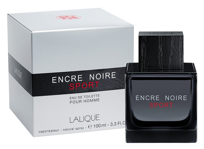 Lalique Encre Noire Sport, Toaletní voda, 100ml, Pánská vůně, + AKCE: dárek zdarma