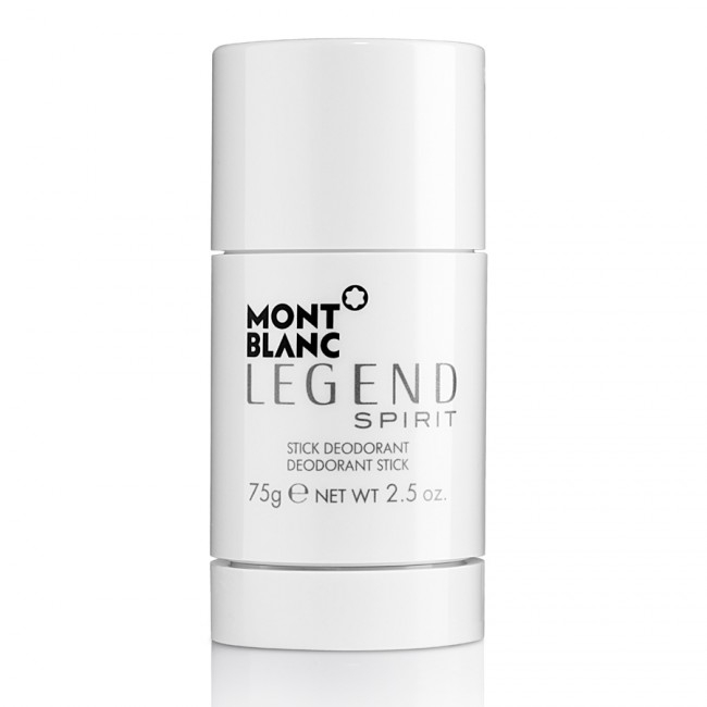 Mont Blanc Legend Spirit, Deostick, 75g, Pánska vôňa