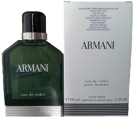 Giorgio Armani Eau de Cedre, Toaletní voda - Tester, 100ml, Pánska vôňa, + AKCE: dárek zdarma