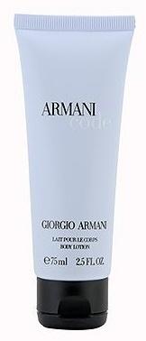 Giorgio Armani Code for Women - bez krabice, Tělové mléko, 75ml, Dámska vôňa, + AKCE: dárek zdarma