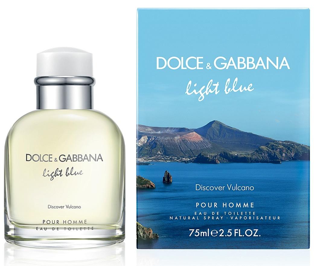 Dolce & Gabbana Light Blue Discover Vulcano Pour Homme, Toaletní voda, 75ml, Pánska vôňa, + AKCE: dárek zdarma