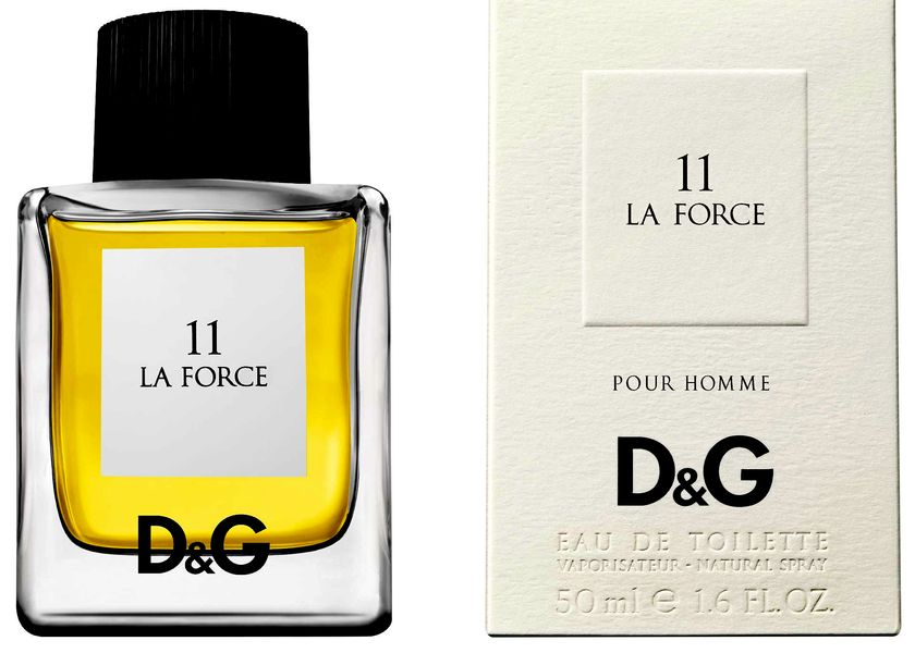 Dolce & Gabbana 11 La Force, Toaletní voda, 50ml, Unisex vôňa, + AKCE: dárek zdarma