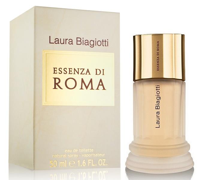 Laura Biagiotti Essenza di Roma, Toaletní voda, 50ml, Dámska vôňa, + AKCE: dárek zdarma