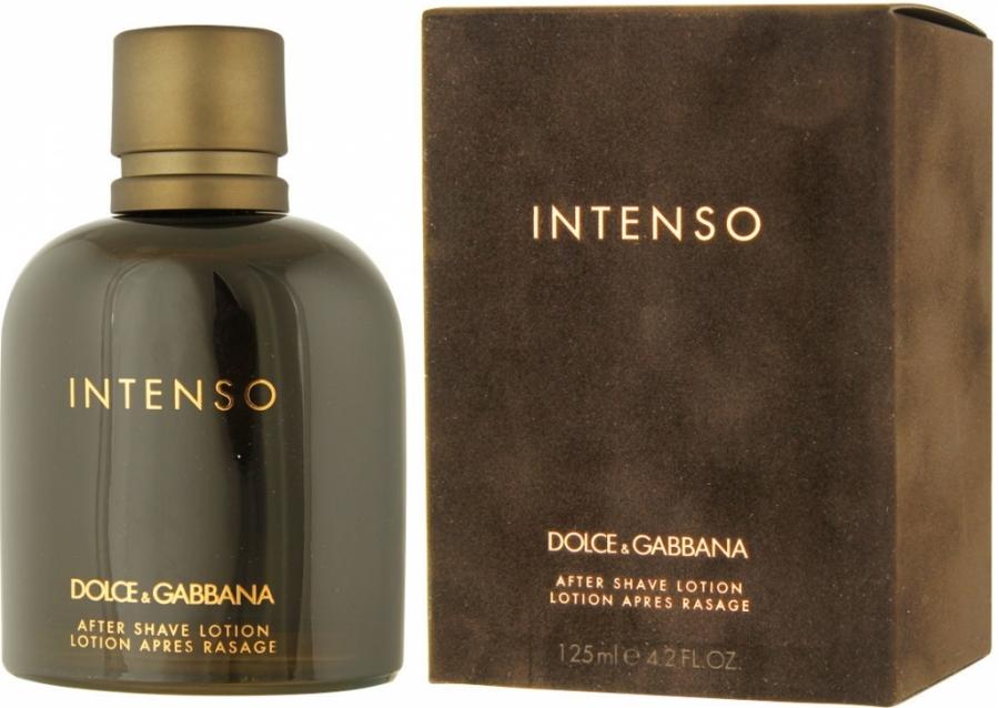 Dolce & Gabbana Intenso Pour Homme, Voda po holení, 125ml, Pánska vôňa, + AKCE: dárek zdarma