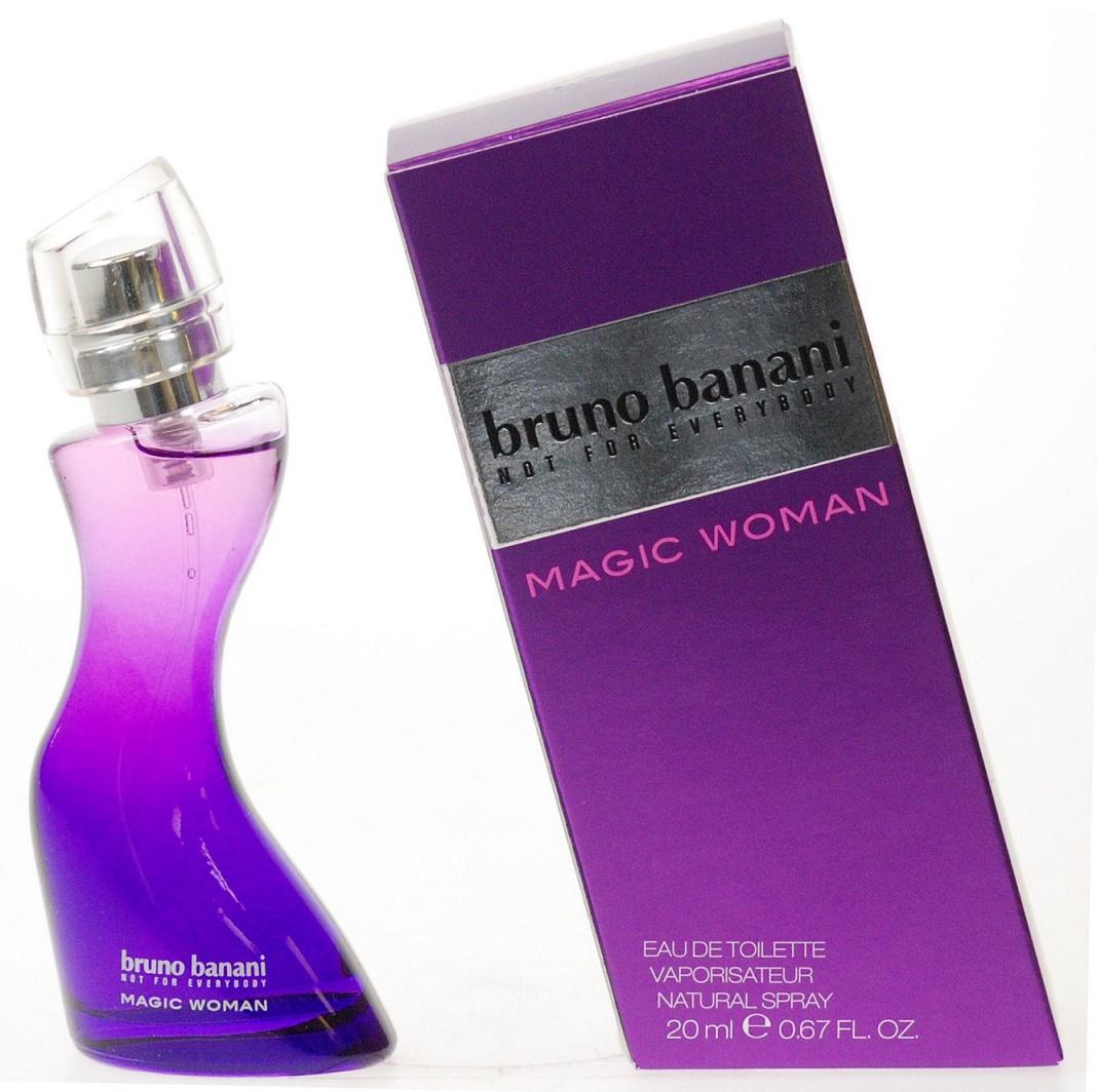 Bruno Banani Magic Woman, Toaletní voda, 20ml, Dámska vôňa, + AKCE: dárek zdarma