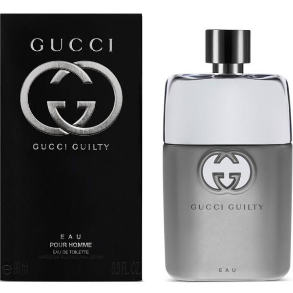 Gucci Guilty Eau Pour Homme, Toaletní voda, 90ml, Pánska vôňa, + AKCE: dárek zdarma