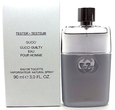 Gucci Guilty Eau Pour Homme, Toaletní voda - Tester, 90ml, Pánska vôňa