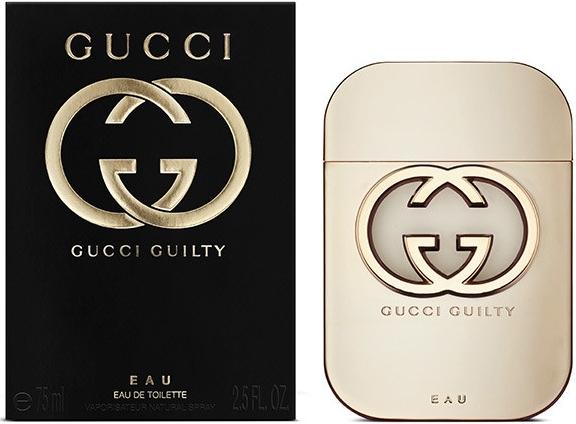 Gucci Guilty Eau pour Femme, Toaletní voda, 75ml, Dámska vôňa, + AKCE: dárek zdarma