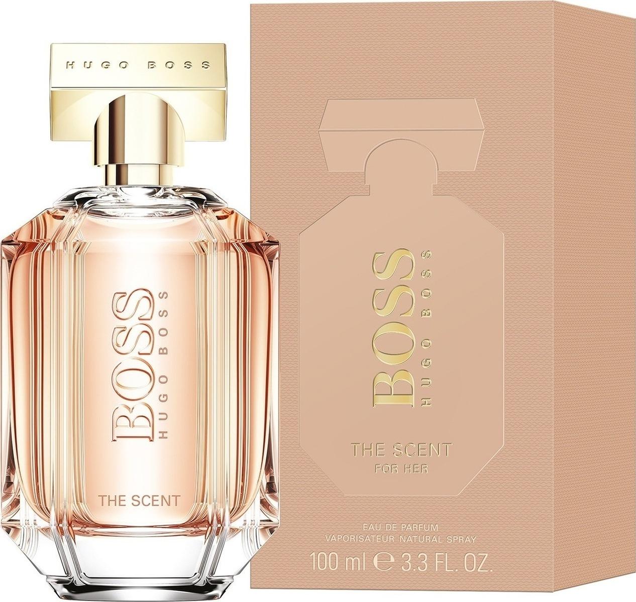Hugo Boss The Scent for Her, Parfémovaná voda, 100ml, Dámska vôňa, + AKCE: dárek zdarma