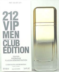Carolina Herrera 212 VIP Men Club Edition, Toaletní voda - Tester, 100ml, Pánska vôňa, + AKCE: dárek zdarma