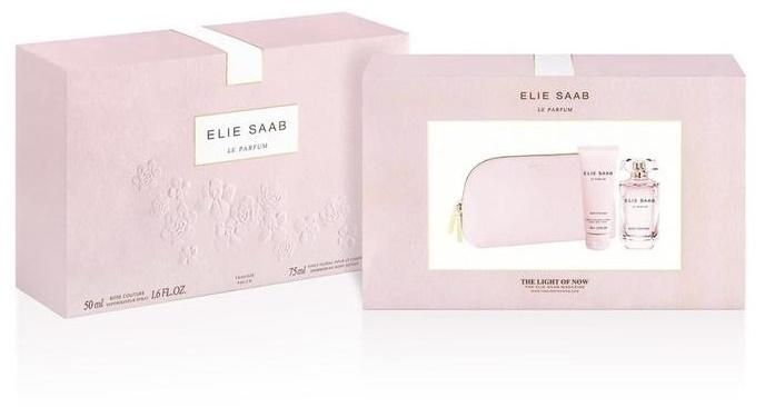 Elie Saab Le Parfum Rose Couture, Dárková sada, toaletní voda 50ml + tělové mléko 75ml, Dámska vôňa, + AKCE: dárek zdarma