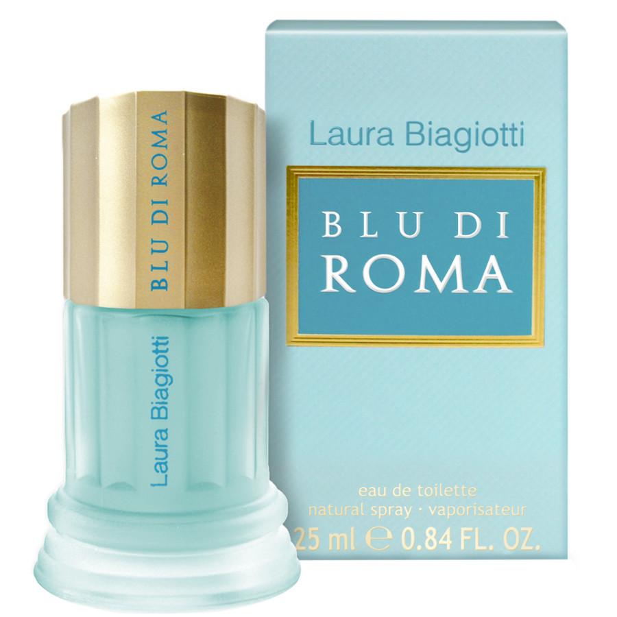 Laura Biagiotti Blu di Roma Donna, Toaletní voda, 25ml, Dámska vôňa, + AKCE: dárek zdarma