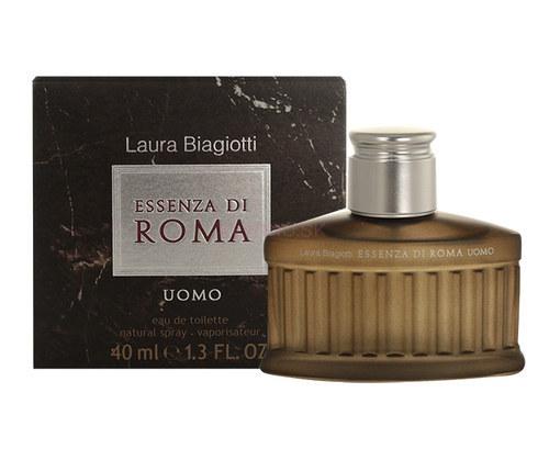 Laura Biagiotti Essenza di Roma Uomo, Toaletní voda, 40ml, Pánska vôňa, + AKCE: dárek zdarma