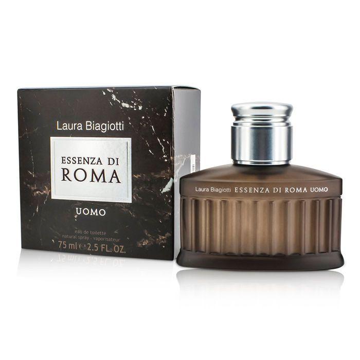 Laura Biagiotti Essenza di Roma Uomo, Toaletní voda, 75ml, Pánska vôňa, + AKCE: dárek zdarma