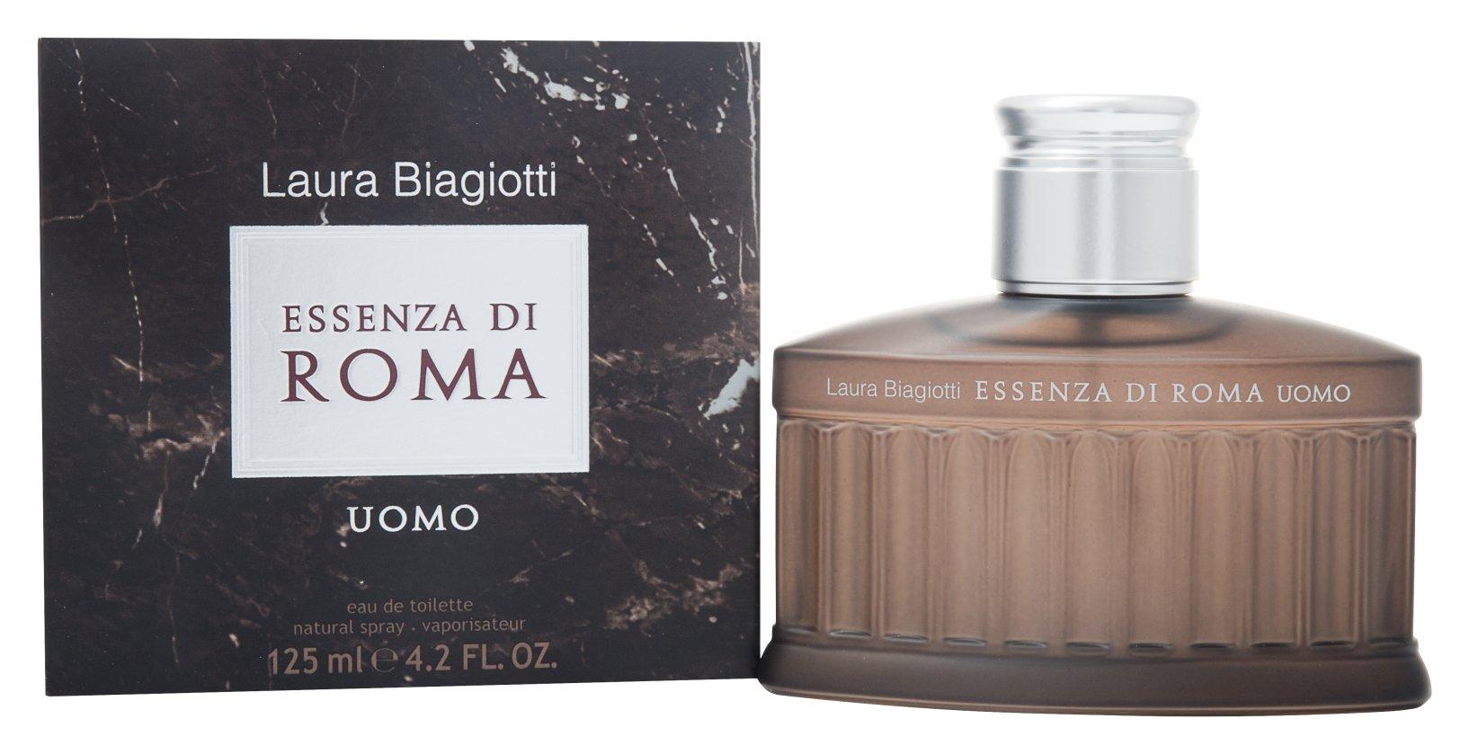 Laura Biagiotti Essenza di Roma Uomo, Toaletní voda, 125ml, Pánska vôňa, + AKCE: dárek zdarma