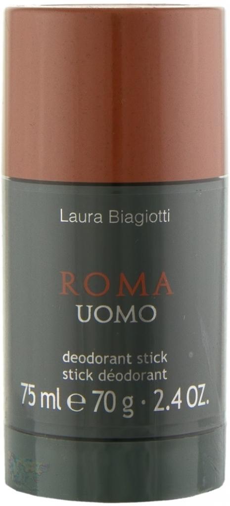 Laura Biagiotti Roma Uomo, Deostick, 75ml, Pánska vôňa, + AKCE: dárek zdarma
