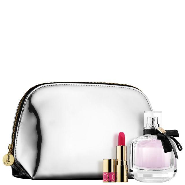 Yves Saint Laurent Mon Paris, Dárková sada, parfémovaná voda 90ml + růž 1.4ml + taška, Dámska vôňa, + AKCE: dárek zdarma