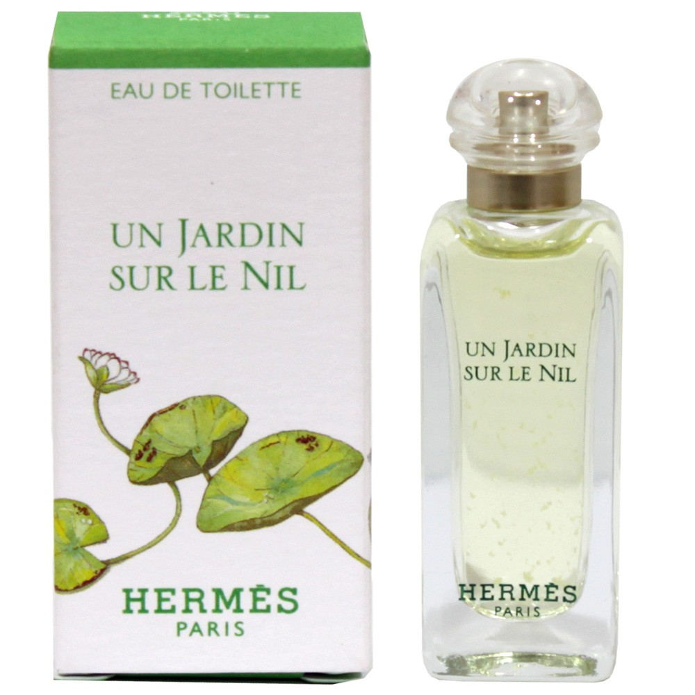 Hermes Un Jardin Sur Le Toit, Toaletní voda, 7.5ml, Dámska vôňa, + AKCE: dárek zdarma