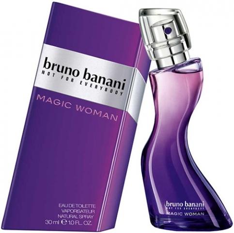 Bruno Banani Magic Woman, Toaletní voda, 30ml, Dámska vôňa, + AKCE: dárek zdarma