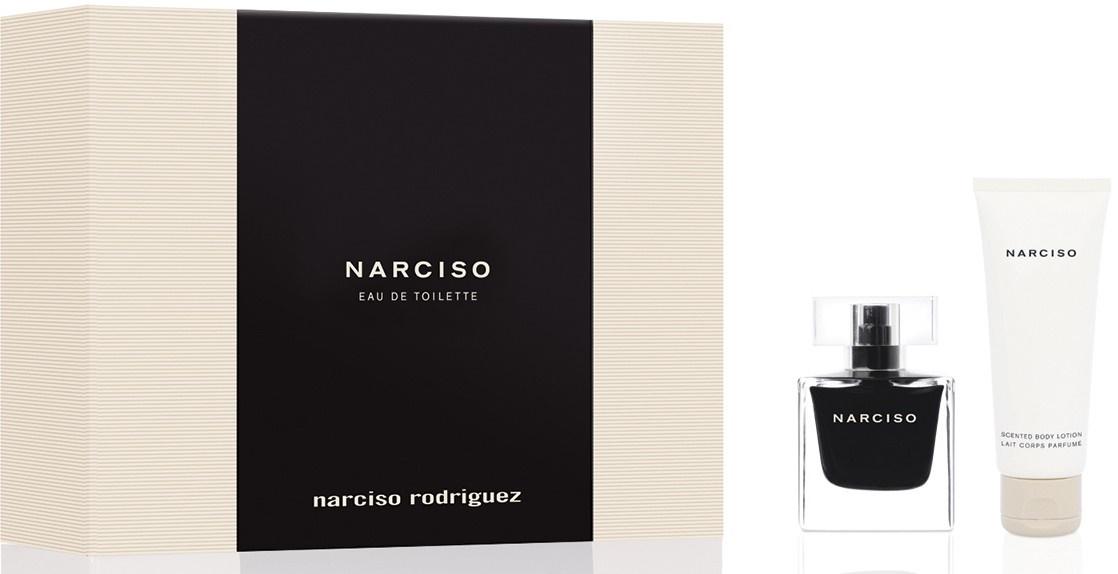 Narciso Rodriguez Narciso, Dárková sada, toaletní voda 50ml + tělové mléko 75ml, Dámska vôňa, + AKCE: dárek zdarma