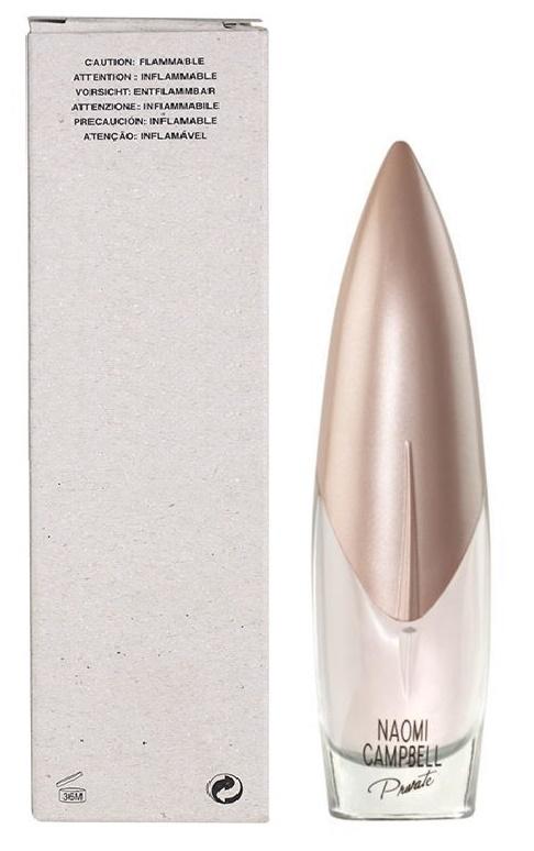 Naomi Campbell Private, Toaletní voda - Tester, 50ml, Dámska vôňa, + AKCE: dárek zdarma