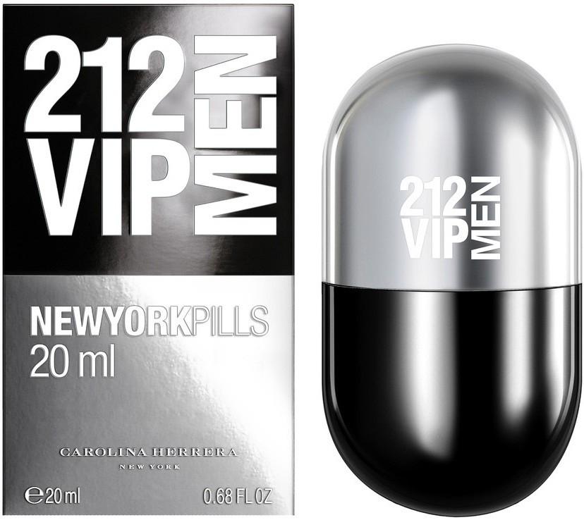 Carolina Herrera 212 VIP Men, Toaletní voda, 20ml, Pánska vôňa, + AKCE: dárek zdarma