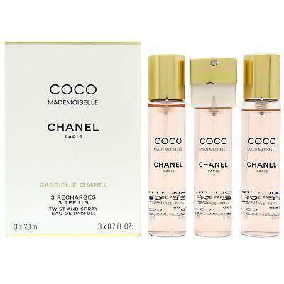Chanel Coco Mademoiselle - náplň, Parfémovaná voda, 3 x 20ml, Dámska vůně, + AKCE: dárek zdarma