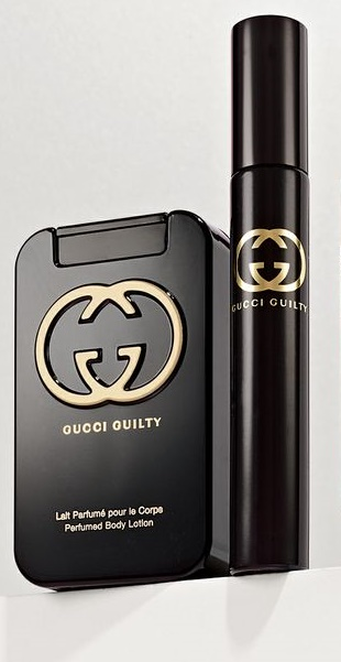 Gucci Guilty, Dárková sada, tělové mléko 50ml + řasenka, Dámska vôňa, + AKCE: dárek zdarma