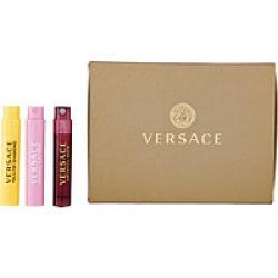 Versace mini set, Dárková sada, Crystal Noir 1ml +Bright Crystal 1ml +Yellow Diamond 1ml , Dámska vôňa, + AKCE: dárek zdarma