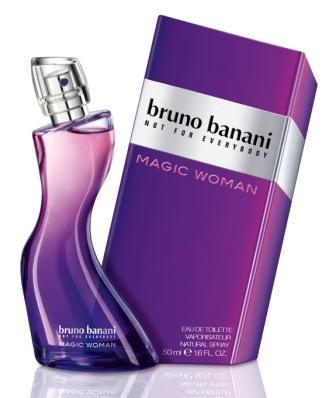Bruno Banani Magic Woman, Toaletní voda, 50ml, Dámska vůně, + AKCE: dárek zdarma