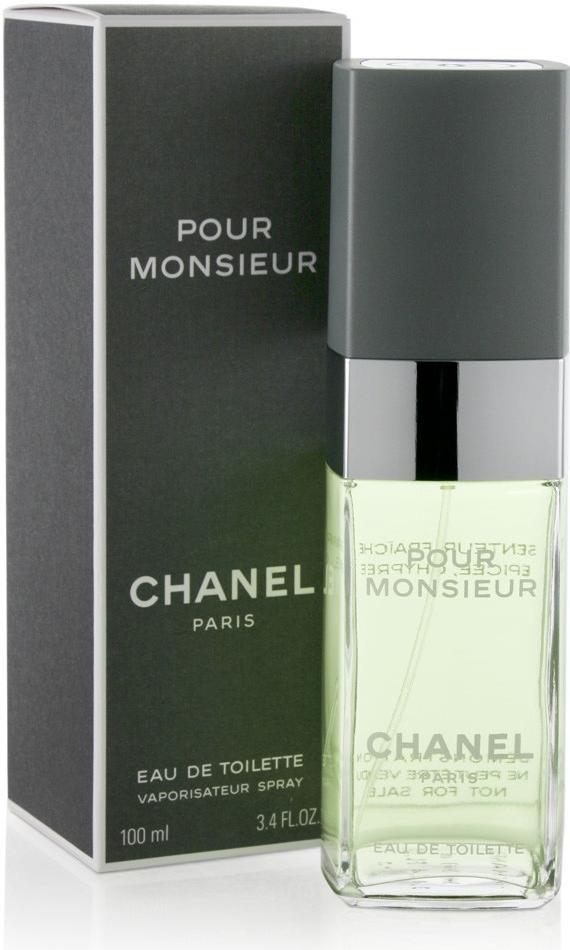 Chanel Pour Monsieur, Toaletní voda, 100ml, Pánska vôňa, + AKCE: dárek zdarma
