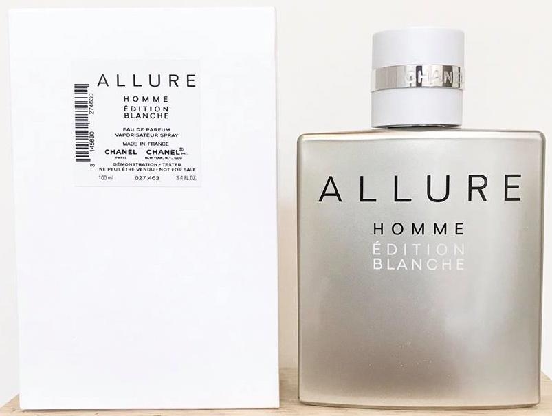 Chanel Allure Homme Edition Blanche, Parfémovaná voda - Tester, 100ml, Pánska vôňa, + AKCE: dárek zdarma