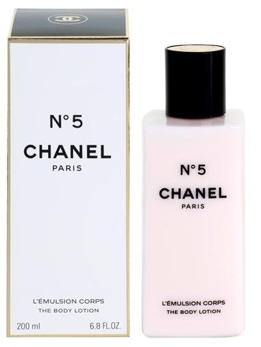 Chanel No.5, Tělové mléko, 200ml, Dámska vôňa, + AKCE: dárek zdarma