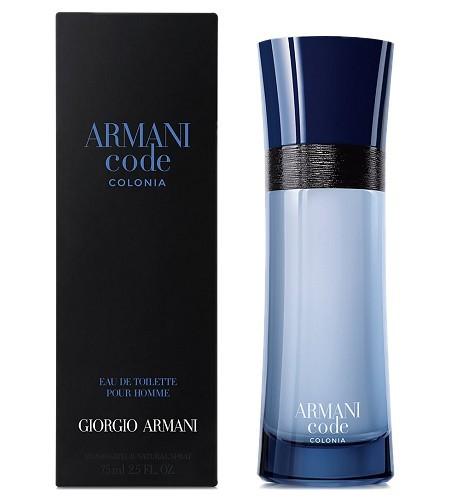 Giorgio Armani Code Colonia, Toaletní voda, 75ml, Pánska vôňa, + AKCE: dárek zdarma