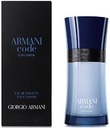 Giorgio Armani Code Colonia, Toaletní voda, 50ml, Pánska vôňa, + AKCE: dárek zdarma