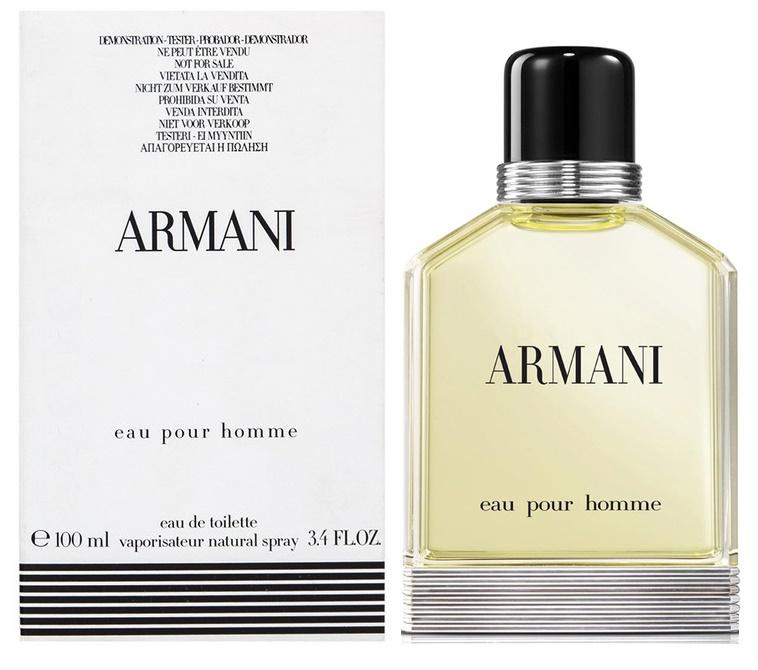 Giorgio Armani Armani Eau Pour Homme, Toaletní voda - Tester, 100ml, Pánska vôňa, + AKCE: dárek zdarma