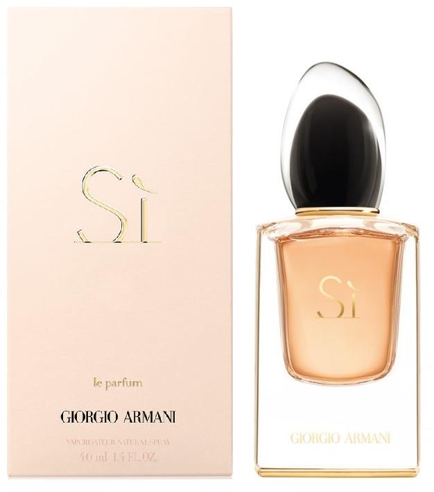 Giorgio Armani Si Le Parfum, Parfémovaná voda, 40ml, Dámska vôňa, + AKCE: dárek zdarma