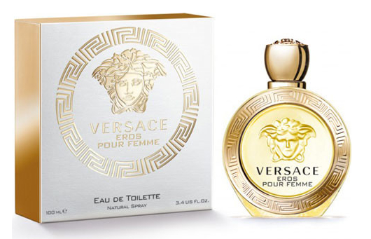 Versace Eros Pour Femme, Toaletní voda, 100ml, Dámska vôňa, + AKCE: dárek zdarma