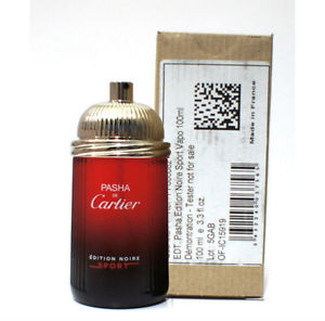 Cartier Pasha de Cartier Edition Noire Sport, Toaletní voda - Tester, 100ml, Pánska vôňa, + AKCE: dárek zdarma