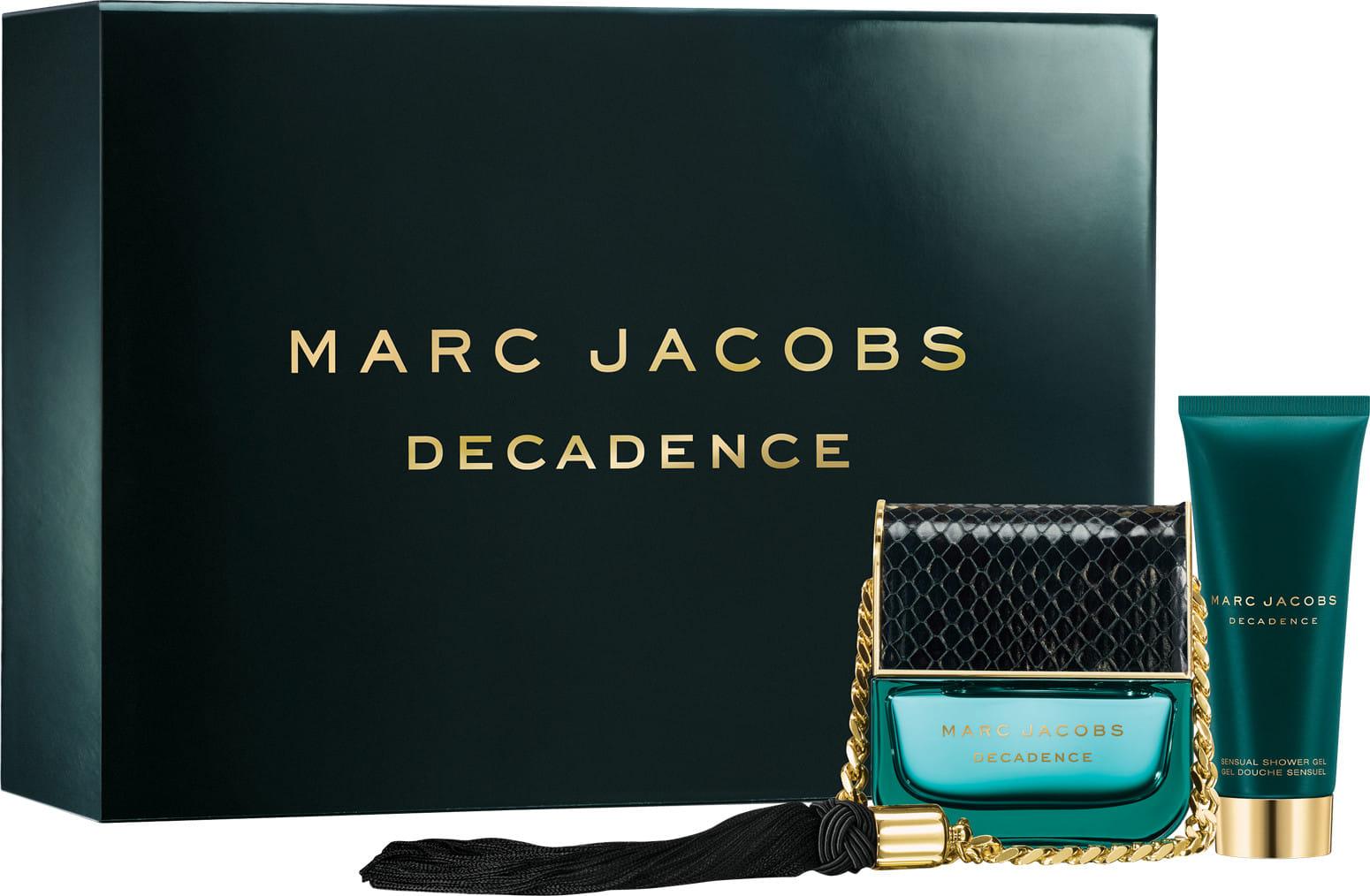 Marc Jacobs Decadence, Dárková sada, parfémovaná voda 50ml + sprchový gel 75ml, Dámska vôňa, + AKCE: dárek zdarma