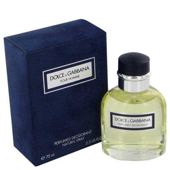 Dolce & Gabbana pour Homme, Deodorant, 75ml, Pánska vôňa, + AKCE: dárek zdarma